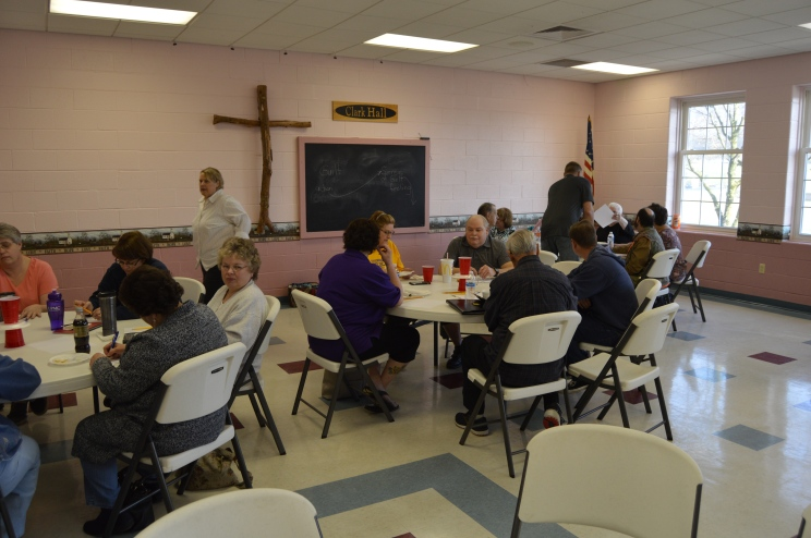 Officers' Retreat - Elders and Deacons from all three Churches