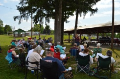 Fathers' Day service and picnic at Mifflintown